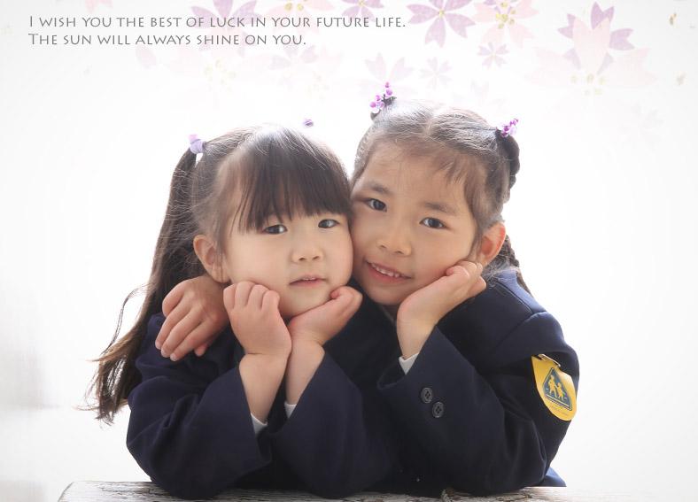 4月、姉妹の入園入学を・・・